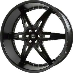 Verde Custom Wheels Allusion Semi Gloss Black Wheel (24x9