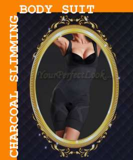 NATURAL BAMBOO CHARCOAL FULL BODY SUIT SLIMMING SHAPER