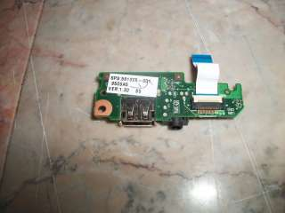 Genuine HP Mini 110 USB Audio Board w/ Cable 581325 001