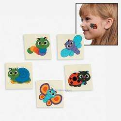 & FRIENDS SPRING BUG TATTOOS Tattoo Butterfly Party Favors