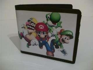 Super Mario Brothers Bros Bi fold Wallet Coin bag Purse