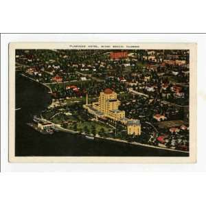 Reprint Flamingo Hotel, Miami Beach, Florida: Home