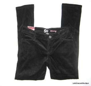 Girls Skinny Stretch Jegging Legging Velour Jeans L 12