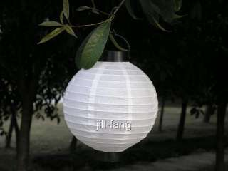 Operated Paper Lantern Wedding Party Christmas Decoration 8   White