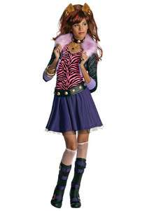 Child Costume   Monster High Clawdeen Wolf