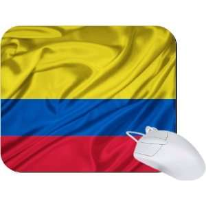 Rikki Knight Colombia Flag Mouse Pad Mousepad   Ideal Gift