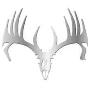 Big Rack Emblems Whitetail Skull: Sports & Outdoors