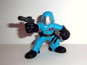 GI JOE Combat heroes COBRA COMMANDER g.i complete pvc