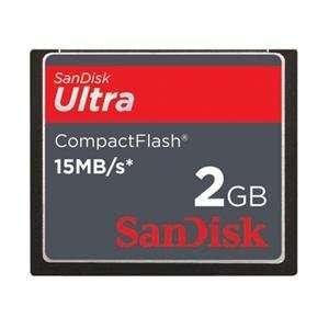 NEW 2GB Ultra CompactFlash Card (Flash Memory & Readers