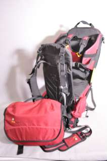 Red Sherpani Alpina Child Carrier Backpack + Red Flora Diaper Bag