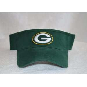 Green Bay Packers Visor Hat   Green GB NFL Golf Cap