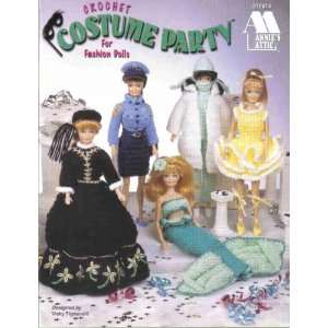 Crochet Costume Party for Fashion Dolls: Vicki Tignanelli: Books
