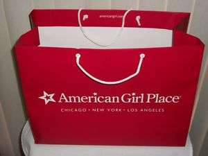 Girl LARGE Doll Shopping Bag Chicago New York Los Angeles