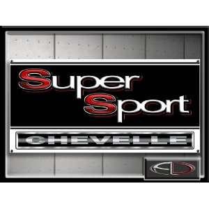 Chevelle Super Sport Sign Banner Chevrolet SS