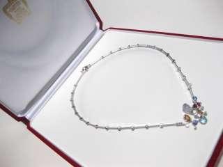 CARTIER MELI MELO DIAMOND 18K WHITE GOLD NECKLACE