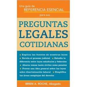 Legales Cotidianas (Spanish Edition) [Paperback] Roche Books