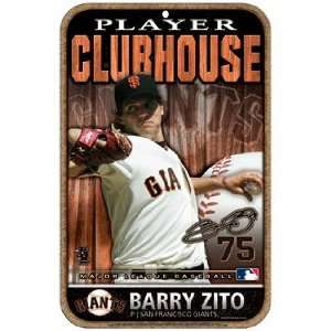 MLB Barry Zito San Francisco Giants Sign Sports
