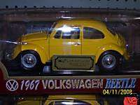 1967 VOLKSWAGEN BEETLE DIECAST 118 SCALE YELLOW