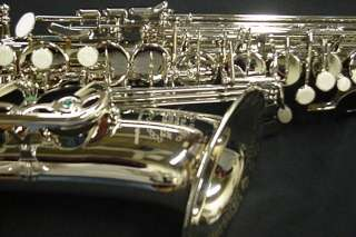 New DC PRO BOSTON big bell nickel plated alto sax/Selmer mouthpiece