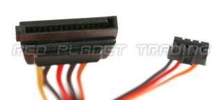 NEW SATA Extender Plus 3 Pin Slimline Optical Drive Power