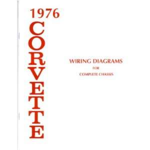 : 1976 CHEVROLET CORVETTE Wiring Diagrams Schematics: Everything Else