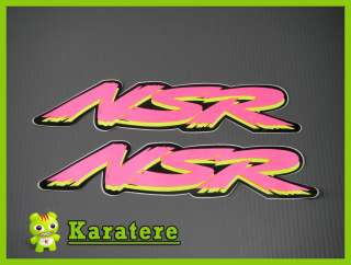 NEW Custom NSR Vinyl Decal Graphic Stickers Honda NSR NS R 125 250 500