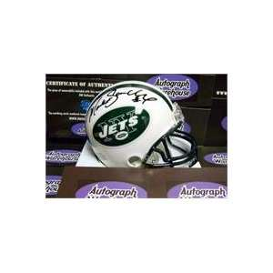 Mark Sanchez autographed Football Mini Helmet (New York