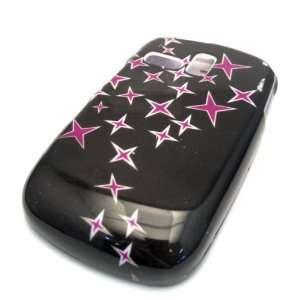 Samsung R355c Pink Ninja Star Design Hard Case Cover Skin