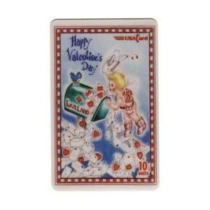 1998 Valentines Day (Cupid With Love Letters) SAMPLE