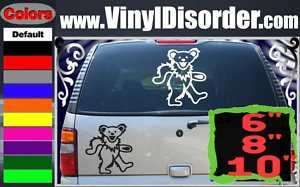 Grateful Dead 01 Band Vinyl Car or Wall Decal Sticker