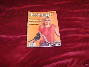 EASYRIDERS MAGAZINE #146 AUGUST 1985 DAVID MANN SPIDER