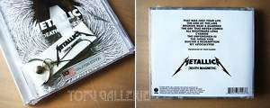Rare METALLICA Death Magnetic MALAYSIA CD + Promo Keych