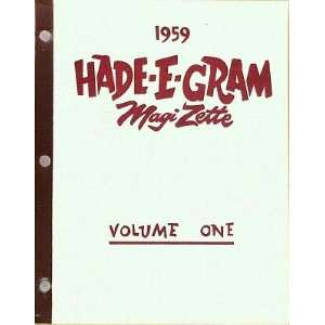Hade E Gram Magizette [Volume One] Micky Hades  Books
