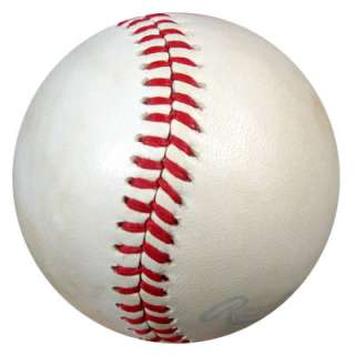 Roger Maris Autographed Signed AL MacPhail Baseball JSA #B23648