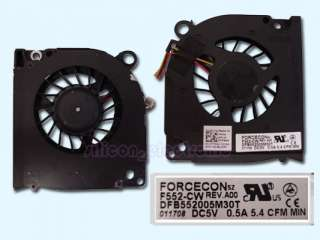 original new dell d620 laptop cpu cooling fan