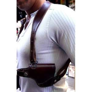Roughnecks Leather all leather shoulder holster: Sports