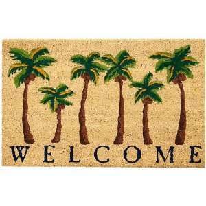 Tropix Welcome Coir Outdoor Mat Home & Kitchen