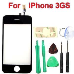 com 3GS Digitizer LCD Glass + Repair Kit for Apple iPhone (Not for 2G