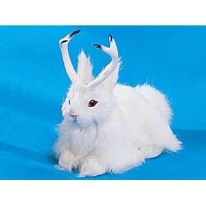 Jackalope Bunny Rabbit Lifelike Decoration Model