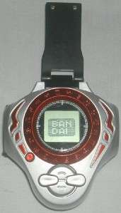 Bandai Digimon Digivice D Power Silver & Red 2004