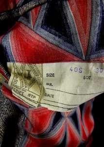 vintage 70s mens KNIT jacket blazer sport coat RETRO textured sz