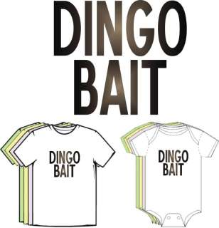 Dingo Ate My Baby Funny Baby Clothes Boy Girl T shirt