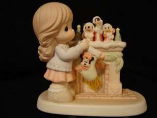 Precious Moments Disney Mickey Minnie SIGNED BY GENE
