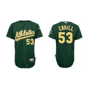 Wholesale Oakland Athletics #53 Trevor Cahill Green Baseball Jerseys