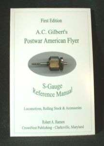 Gilbert American Flyer S Gauge Reference Manual