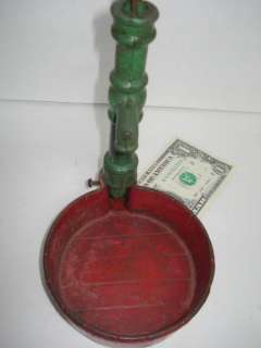 Antique Signed Arcade Toy Cast Iron Water Pump