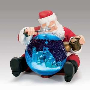 Mr. Christmas Animated Musical Santa Snow Globe #78266