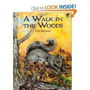 in the Woods Coloring Book (Dover Nature Coloring Book) [Paperback