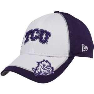 New Era Texas Christian Horned Frogs Youth Purple White Wazbon