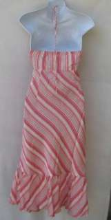 NWT NEW Ann Taylor LOFT Striped Halter Dress Sz 14